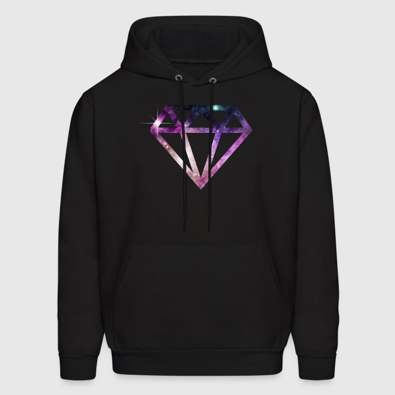 cosmic fantasy diamond - Men's Hoodie
