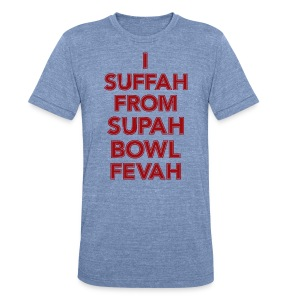 Supah Fevah - Unisex Tri-Blend T-Shirt by American Apparel