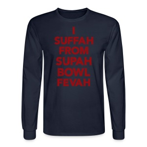 Supah Fevah - Men's Long Sleeve T-Shirt