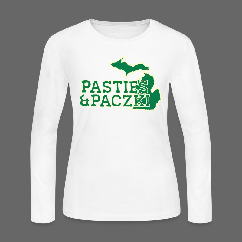 Pasties And Paczki - Women's Long Sleeve Jersey T-Shirt