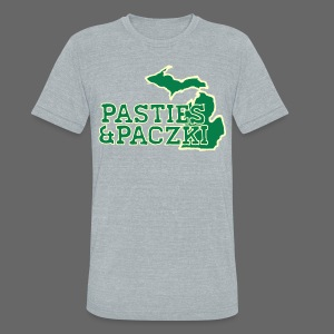 Pasties And Paczki - Unisex Tri-Blend T-Shirt by American Apparel