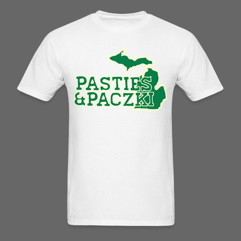 Pasties And Paczki - Men's T-Shirt