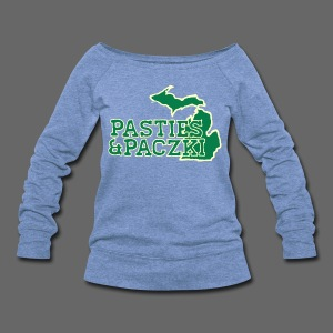 Pasties And Paczki - Women's Wideneck Sweatshirt