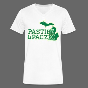 Pasties And Paczki - Men's V-Neck T-Shirt by Canvas