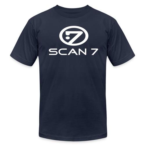 Scan7 - Logo 97 [B] - Men's Fine Jersey T-Shirt