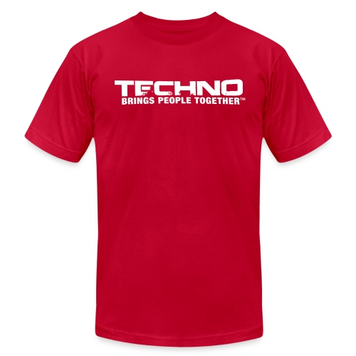 Techno Brings People Together [W] - Men's  Jersey T-Shirt