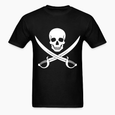 Pirate Skull v2 T-Shirts