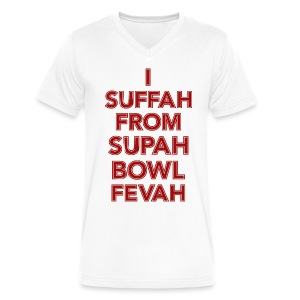Supah Fevah - Men's V-Neck T-Shirt by Canvas