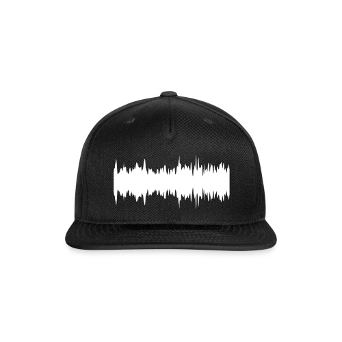 Audio Wave Snapback - Snap-back Baseball Cap