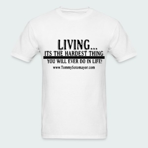 Living - Men's T-Shirt