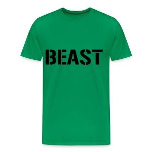 Beast Green T-Shirt - Men's Premium T-Shirt