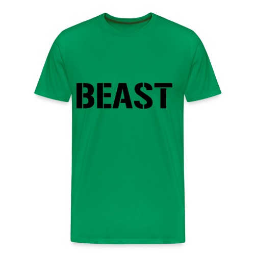 Beast Green T-Shirt - Men's Premium T-Shirt