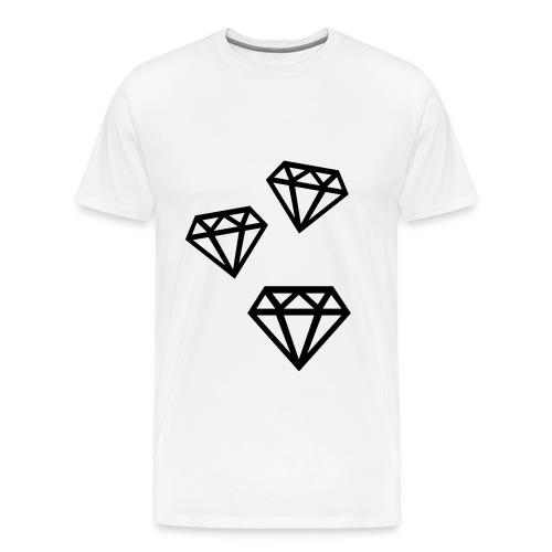 Diamond  - Men's Premium T-Shirt