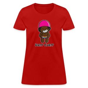 Dirty Curty Girl's Tee - Women's T-Shirt