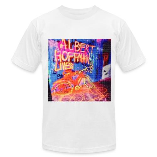 ALBERT LIVES LSD BLOTTER ART TEE (MENS) - Men's Fine Jersey T-Shirt