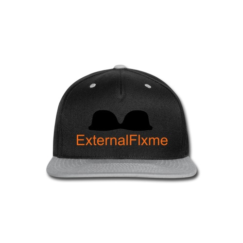 copstache #ExternalFlxme - Snap-back Baseball Cap