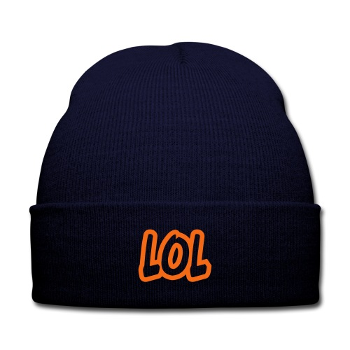 LOL LUE - Knit Cap with Cuff Print