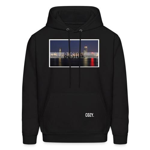 Boston Skyline. - Men's Hoodie