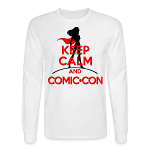 Keep Calm And Comic Con - Men's Long Sleeve T-Shirt