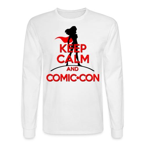 Keep Calm And Comic Con - Men's Long Sleeve T-Shirt