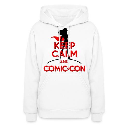 Keep Calm And Comic Con - Women's Hoodie