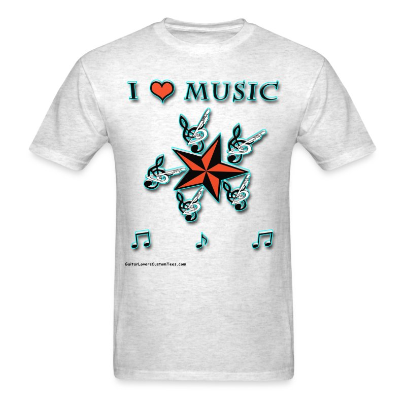 Music Lover - Men's T-Shirt