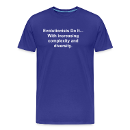 T-Shirts ~ Men's Premium T-Shirt ~ Evolutionists Do It... (Men's)