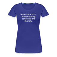 T-Shirts ~ Women's Premium T-Shirt ~ Evolutionists Do It... (Women's)