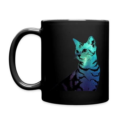 Galaxy Cat Mug (For Right Handed) - Full Color Mug