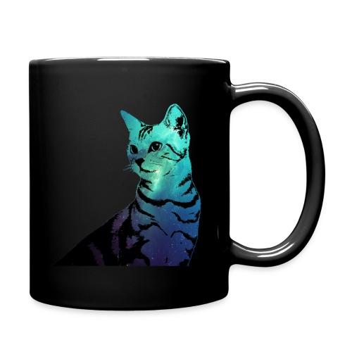 Galaxy Cat Mug (For Left Handed)  - Full Color Mug
