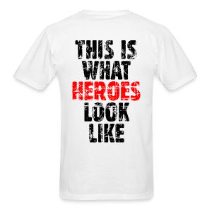 Hero T-Shirt (Vintage Black/Red) - Men's T-Shirt