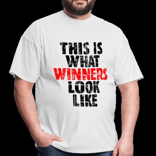 Winner T-Shirt (Vintage Black/Red) - Men's T-Shirt