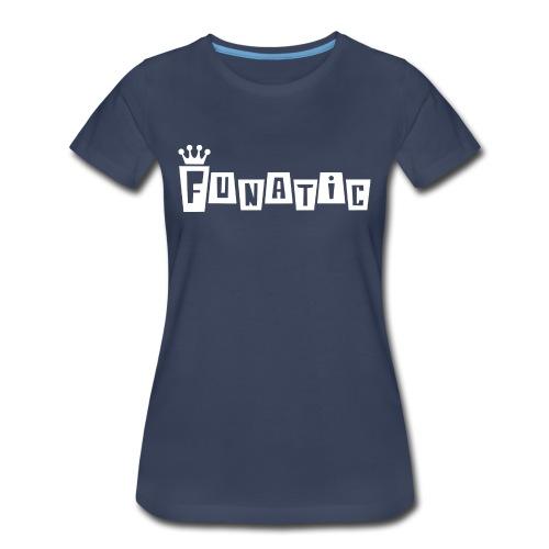 Funko FUNATIC Womans T-Shirt - Navy - Women's Premium T-Shirt