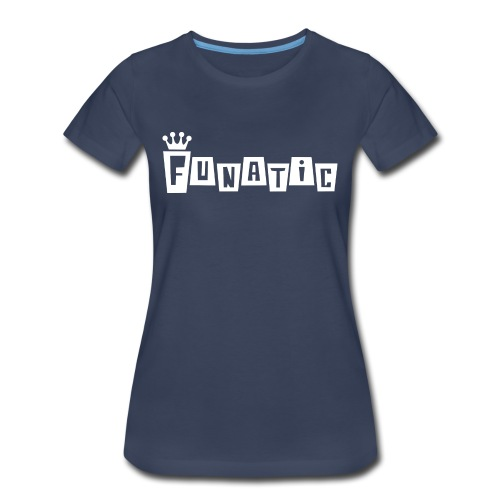 Funko FUNATIC Womans T-Shirt - Navy - Women's Premium T-Shirt