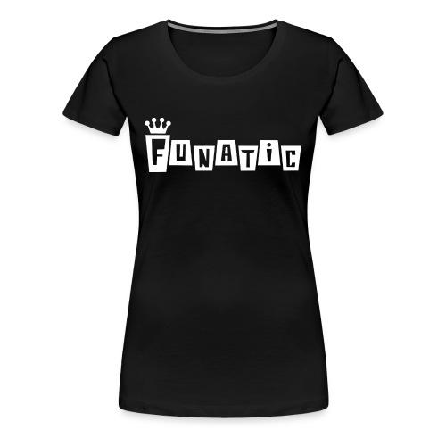 Funko FUNATIC Womans T-Shirt - Black - Women's Premium T-Shirt