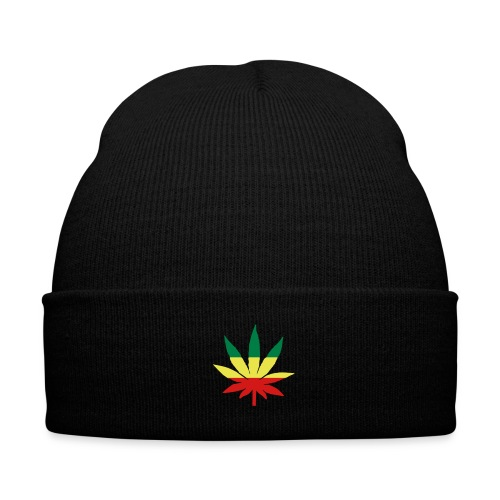 lue!med weed merket! - Knit Cap with Cuff Print