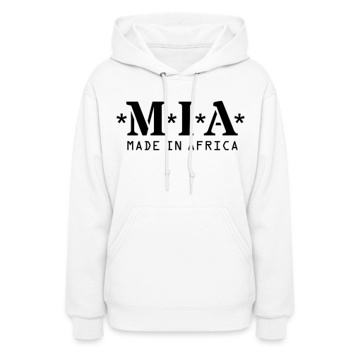 Women's Hoodie - Dear customers,  Before proceeding to the checkout section, please make sure that you are able to see the design or text on the color you have picked.   If you are not able to see the design or text on the color you have picked, please email us at africa4everstore@gmail.com with the name or article number of the item you will like.  If you also want the designs or text to be a specific color don't hesitate to email us with your request, additional funds will be applied.  Thank you!