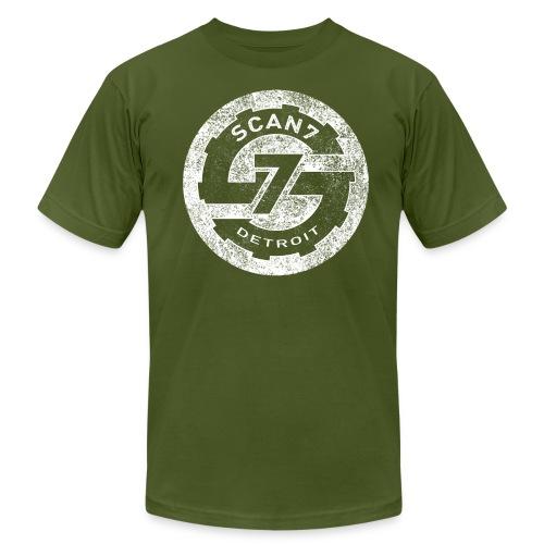 Scan7 Logo 2015 circle [W] - Men's Fine Jersey T-Shirt