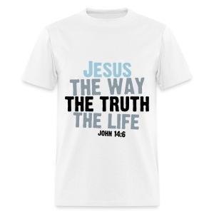John Bible Verse - Men's T-Shirt