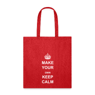 Bags & backpacks ~ Tote Bag ~ Make Your Own Keep Calm - Template