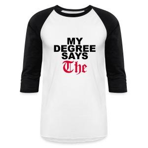 THE Baseball Tee - Baseball T-Shirt