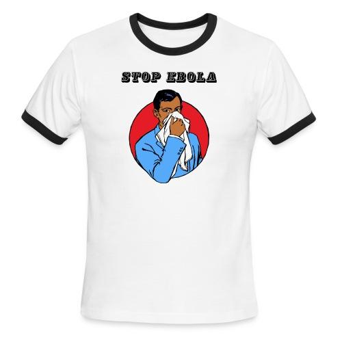 Stop Ebola - Men's Ringer T-Shirt