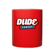 Mugs & Drinkware ~ Full Color Mug ~ DudeComedy Coffee Cup