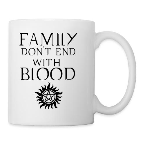 Supernatural White Mug - Coffee/Tea Mug