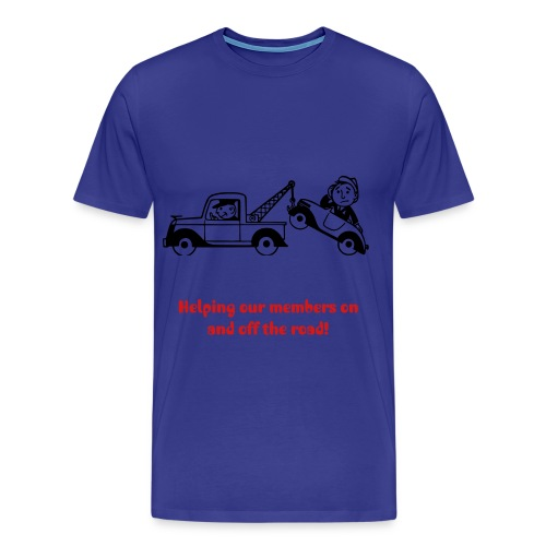 Tow truck - MCA - Men's Premium T-Shirt