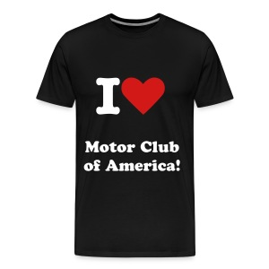 I heart MCA - Men's Premium T-Shirt