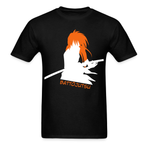Battojutsu Kenshin - Black ♂ - Men's T-Shirt