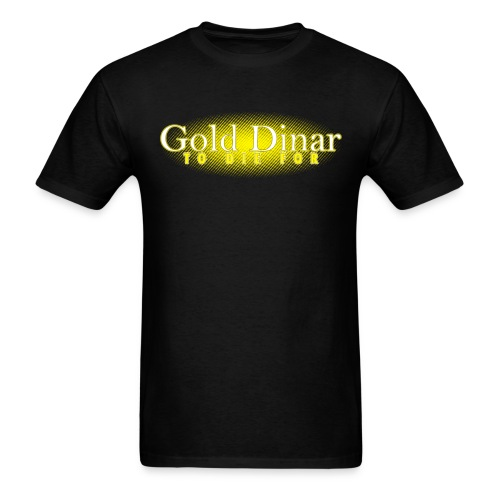 Gold Dinar - Men's T-Shirt
