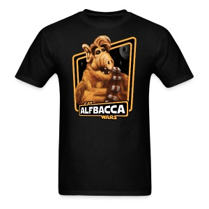 Alfbacca: Cat Wars Tee - Men's T-Shirt