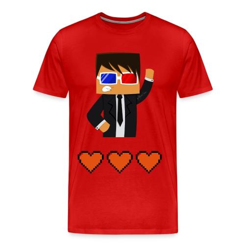 Unisex Agent Minecraft T-Shirt - Men's Premium T-Shirt